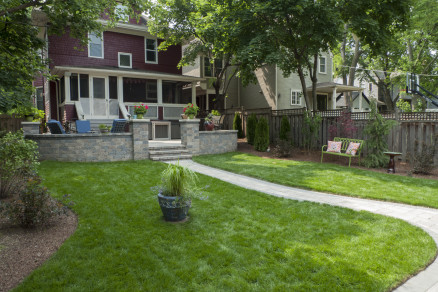 Backyard in Evanston