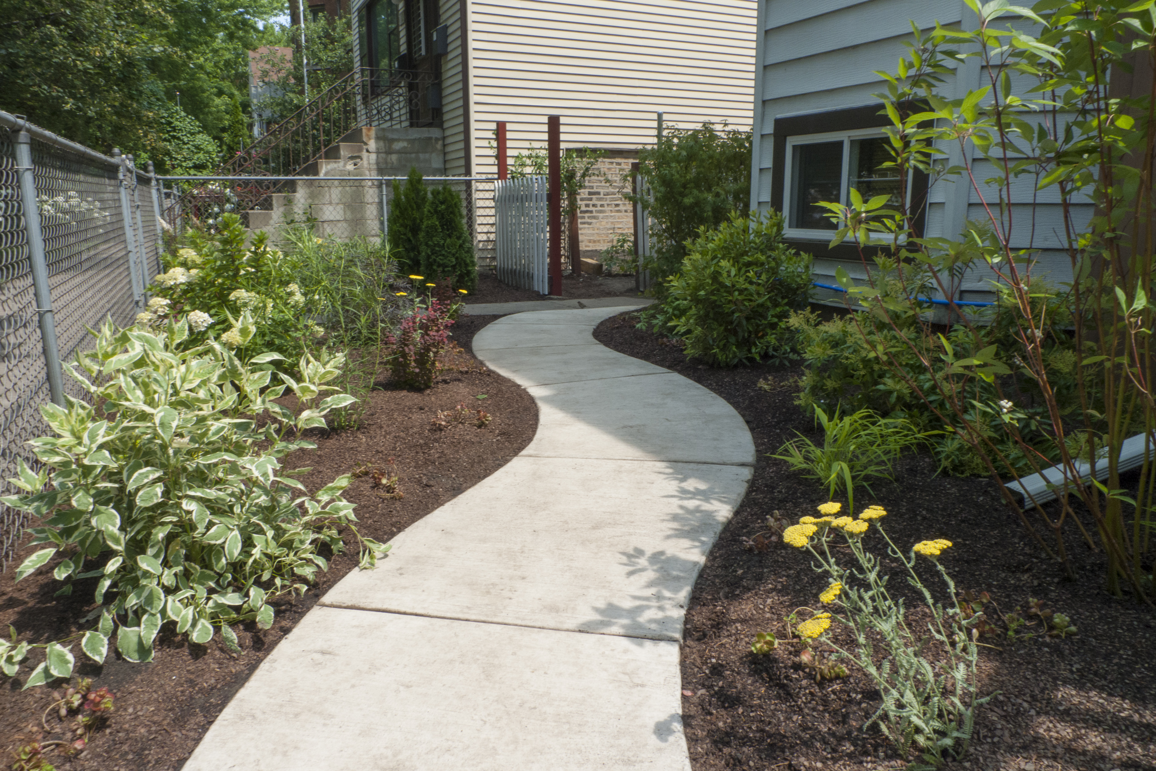 Front Landscaping in Chicago